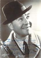 Autographe - Milton, Photo Studio Harcourt - Autografi
