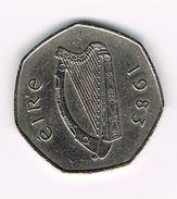 )  IERLAND  50  PENCE  1983 - Irlande