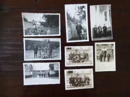 Lot De Gendarme 1946 1947   Identifié - War, Military