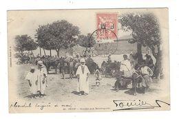 MOUCHON 15 C Retouché  F. M. Cad Sétif 1905 - Militaire Zegels (zonder Portkosten)