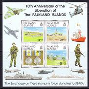 Falkland Islands 1992 Liberation M/s ** Mnh (36778) - Falklandeilanden