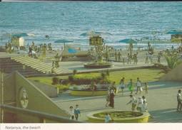 ISRAEL---NETANYA--the Beach---voir  2 Scans - Israel