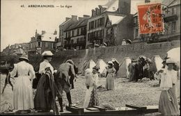 14 - ARROMANCHES - Digue - Plage - Arromanches