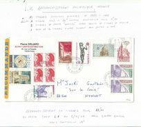 LR   Affranchissement Composé De 13 Timbres Pour 22.00fr  Paris Le 2/10/2000...........à Voir - France
