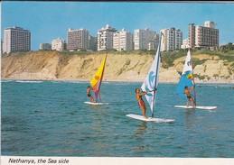 ISRAEL---NETHANYA---the Sea Side--voir  2 Scans - Israel