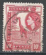 Kenya, Uganda & Tanzania 1954. Scott #104 (U) Giraffe - Kenya, Uganda & Tanganyika