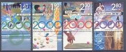 Israel 2000 Mi 1541-1544 MNH ( ZS10 ISR1541-1544 ) - Arte