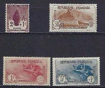 """FR YT 229 à 232 """" 3e Série Orphelins"""" 1926-27 Neuf* - France"""