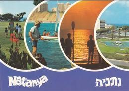 ISRAEL----NATANYA--multivues--voir  2 Scans - Israel