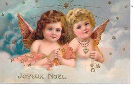 ANGELOTS - Joyeux Noël ( Belle Carte Gaufrée  ) - Angels