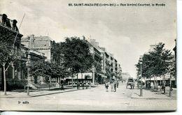 N°55312 -cpa Saint Nazaire -rue Amiral Courbet -le Musée- - Saint Nazaire