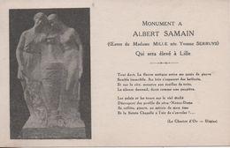 MONUMENT A  ALBERT SAMAIN - Lille