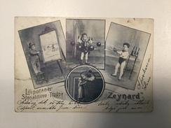 AK CIRCUS  CIRQUE  LILIPUTANER  SPECIALITÄTEN TRUPPE    ZEYNARD   1902. - Zirkus
