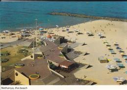 ISRAEL----NETHANYA--the Beach--voir  2 Scans - Israel