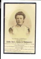 Dp 2594 - AIMEE DE WANNEMAEKER - MUNTE  1881 + 1932 - Devotion Images