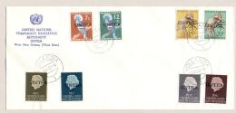 NNG / UNTEA - 1962 - 8 Zegels Op Cover With Cancel Hollandia/3 1-11-1962 - Zonder Adres / Not Sent - Nederlands Nieuw-Guinea