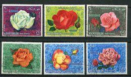 Khor Fakkan Ob N° 54 A à 59 A (ref. Michel) - Roses - - Rose