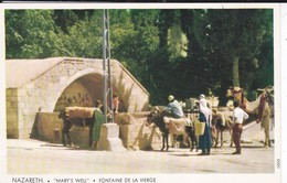 ISRAEL----NAZARETH--mary's Well--fontaine De La Vierge--voir  2 Scans - Israel