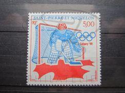 VEND BEAU TIMBRE DE SAINT-PIERRE ET MIQUELON N° 487 , X !!! - St.Pierre & Miquelon