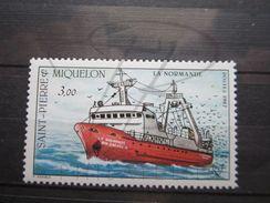 VEND BEAU TIMBRE DE SAINT-PIERRE ET MIQUELON N° 482 , XX !!! - St.Pierre & Miquelon