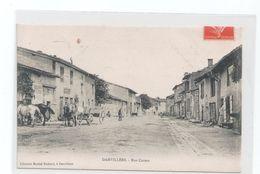 CPA 55 DAMVILLERS / RUE CARNOT / 1907 - Damvillers