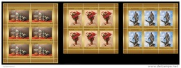 Russia 2013 Mih. 1972/74 Modern Art. Painting (3 M/S) MNH ** - Unused Stamps