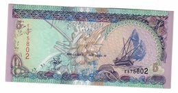 Maldives 5 Rufiyaa 2000 UNC  .C. - Maldive