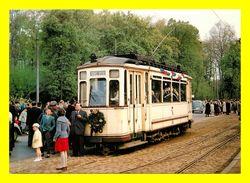 Thème Tramways :  à Strasbourg  à Neuhof Foret  (scan Recto Et Verso ) - Tramways