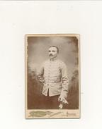 Photo Cabinet - Militaire 7 Sur Col - E. Join, POITIERS - Photographs