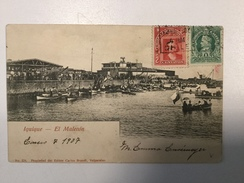 AK   CHILE  IQUIQUE  1907.  UNDIVIDED BACK - Chile
