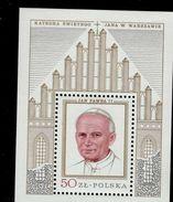 Polen Block 76 Papst Johannes Paul II ** Postfrisch MNH Neuf - Blocks & Sheetlets & Panes