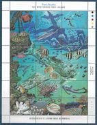 1988 MICRONESIE 65-82** Faune Marine, Poissons, Plongée Sous-marine - Micronésie