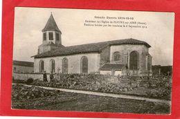 FLEURY-sur-AIRE - Eglise - 1916 - - Ohne Zuordnung