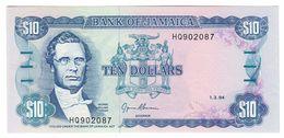 Jamaica 10 Dollars 01/03/1994 UNC  .C. - Jamaica