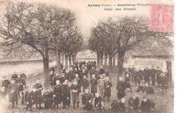 Antony . Institution Villenfin . Cour Des Grands . - Antony