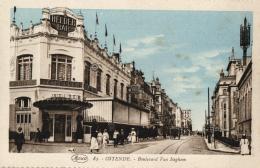 "BELGIQUE - FLANDRE OCCIDENTALE - OSTENDE - Boulevard Van Iseghem. N°83. (brasserie-restaurant ""Le Helder"") - Oostende"