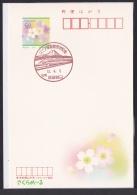 Japan Commemorative Postmark, Linear Motor Car Train Mt.Fuji (jch8249) - Japan