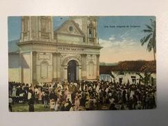 AK   GUATEMALA    UNA FIESTA  RELIGIOSA DE INDIGENAS - Guatemala