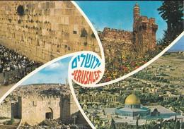 ISRAEL----JERUSALEM---multivues--voir  2 Scans - Israel