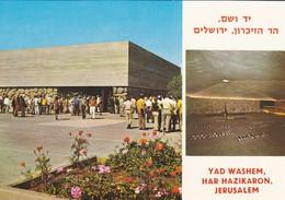 ISRAEL----JERUSALEM---y Washem Har Hazikaron--multivues--voir  2 Scans - Israel