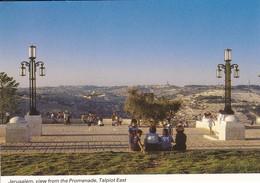 ISRAEL----JERUSALEM---view From The Promenade Talpiot East--voir  2 Scans - Israel