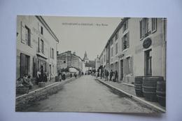 DOULEVANT-le-CHATEAU-rue Haute-caisse Chocolat Menier-tonneaux-animee - Doulevant-le-Château