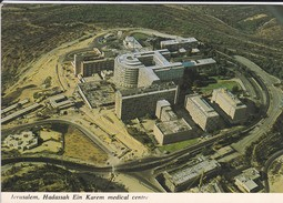 ISRAEL----JERUSALEM---hadassah Ein Karem Medical Centre--voir  2 Scans - Israel