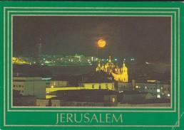ISRAEL----JERUSALEM---at Night--voir  2 Scans - Israel