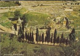 ISRAEL----JERUSALEM---kidron Valley--voir  2 Scans - Israel