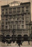 BELGIQUE - BRUXELLES - LA PLACE HOTEL - Carte écrite Le Jour De L'Anniversaire De L'Armistice Très Très Rare Plan - Cafés, Hotels, Restaurants
