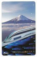 Giappone - Tessera Telefonica Da 105 Units T319 - NTT, - Treni