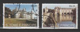 "SAO TOME ET PRINCIPE ,N° 1066-1067 "" EXPOSITION NATIONALE FRANÇAISE "" - Ponti"