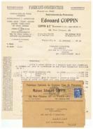 FABRICANT CONSTRUCTEUR INSTRUMENTS DE PRECISION  EDOURD COPPIN à PARIS 1952 - Francia