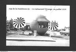 CAP DE LA MADELEINE - TROIS RIVIÈRES - QUÉBEC - LE RESTAURANT L'ORANGE EN JUILLET 1954 - Trois-Rivières